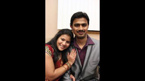 Srinivas Kuchibhotla, with his wife Sunayana Dumala, died in a triple shooting at a Kansas tavern.