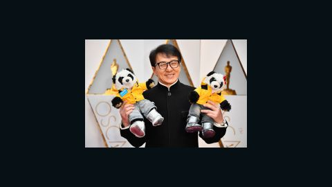 Actor Jackie Chan attends the 89th Annual Academy Awards at Hollywood & Highland Center on February 26, 2017 in Hollywood, California.