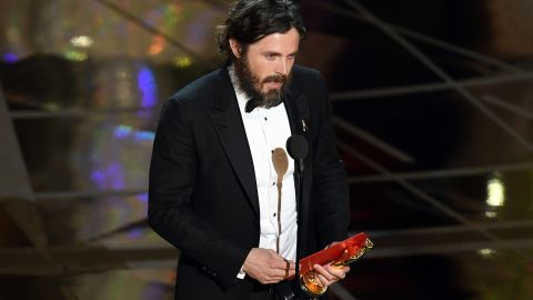 """Casey Affleck won best actor for his role in """"Manchester by the Sea."""""""