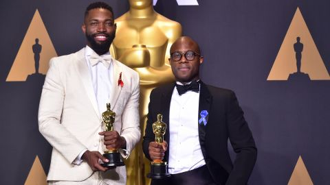 """The African-American screenwriting team Tarell Alvin McCraney and Barry Jenkins won best adapted screenplay for """"Moonlight"""" in 2017."""