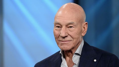 """Patrick Stewart attends the Build Series Presents Hugh Jackman And Patrick Stewart Discussing """"Logan"""" at Build Studio on March 2, 2017 in New York City."""