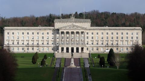 The Parliament Buildings at Stormont in Belfast.