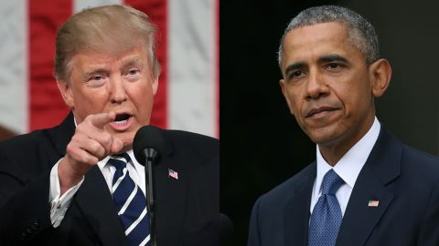President Trump and President Obama represent two visions of America. Which one will prevail is unknown.
