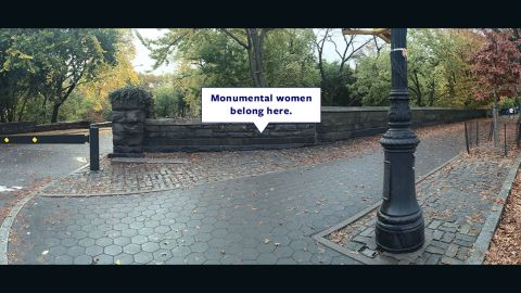 The Elizabeth Cady Stanton and Susan B. Anthony Statue Fund advocates placing a statue of the two women's rights pioneers in New York City's iconic Central Park