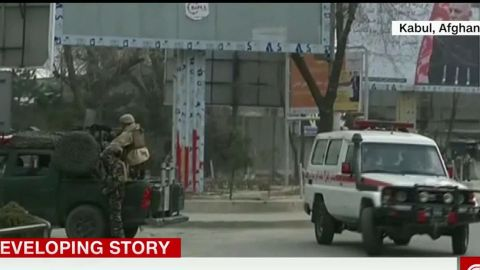 Attackers killed at least 30 people at the hospital.