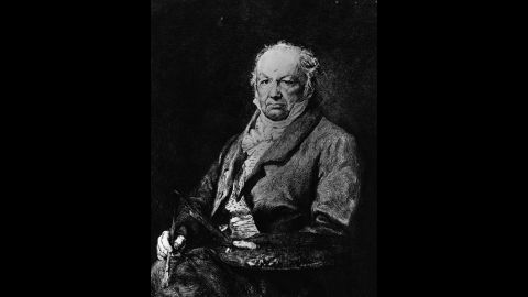 Spanish painter Francisco Jose de Goya y Lucientes was another famous artist who experienced mental breakdowns.