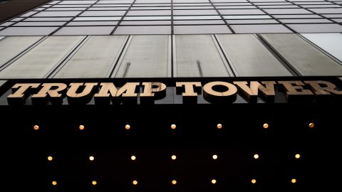 NEW YORK, NY - MARCH 7: A view of Trump Tower, March 7, 2017 in New York City. In a series of tweets on Saturday morning, President Donald Trump accused former President Barack Obama of ordering wiretapping at Trump Tower during the run up to the election. (Photo by Drew Angerer/Getty Images)