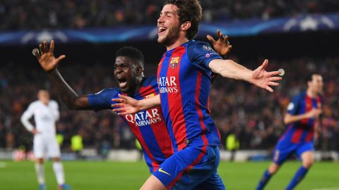 Barca is the first team to overturn a first-leg 4-0 deficit in the history of the Champions League.
