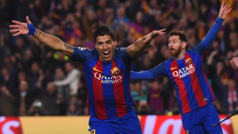 With just two minutes of regulation time remaining, Barcelona had a 3-1 lead on the night but required a further three goals to go through after Edinson Cavani's 62nd-minute strike.