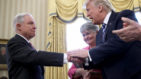 Donald Trump Jeff Sessions