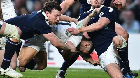 But there was no stopping England. Danny Care added two late tries as England won 61-21 to secure back-to-back Six Nations titles and equal the All Blacks' record of 18 successive Test wins.