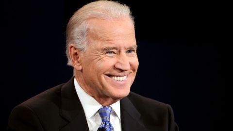 DANVILLE, KY - OCTOBER 11:  U.S. Vice President Joe Biden smiles during the vice presidential debate at Centre College October 11, 2012 in Danville, Kentucky.
