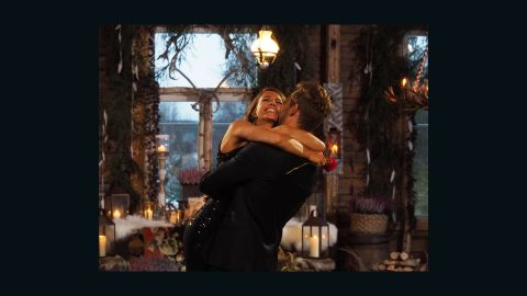 """<a href=""""http://www.cnn.com/2017/03/13/tv-shows/bachelor-finale-2017/"""" target=""""_blank"""">Nick Viall proposed to Vanessa Grimaldi</a> on Season 21 of """"The Bachelor"""" in March 2017. But the couple announced their split in August."""