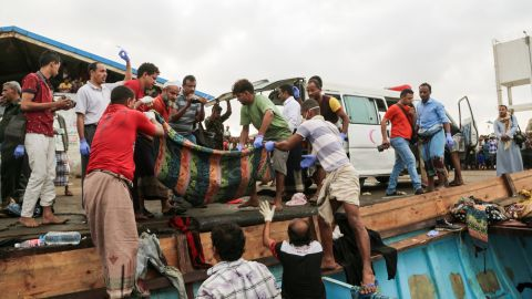 The boat was carrying up to 160 people when an unknown assailant attacked it early Friday, the International Organization for Migration said.