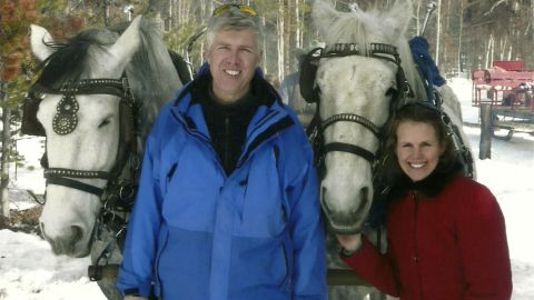 Gorsuch with his wife. He is described by colleagues and friends as a silver-haired combination of wicked smarts, down-to-earth modesty, disarming warmth and careful deliberation.