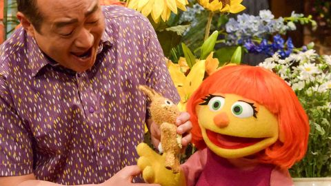 """Julia, a new autistic muppet character, will join the cast of """"Sesame Street"""" in April. The character was first introduced during the new <a href=""""http://autism.sesamestreet.org/index.html"""" target=""""_blank"""" target=""""_blank"""">Sesame Street and Autism: See Amazing in All Children</a>."""