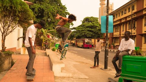 With no skate parks and an estimated population between 17 and 21 million Lagos seems an unlikely skateboarding city. Skate crew WAFFLESNCREAM are changing this. <br /><br />Nigerian- American photographer and filmmaker, Amarachi Nwosu  documented them as they took to the streets of Africa's most populous city.<br /><br />Photo: Amarachi Nwosu