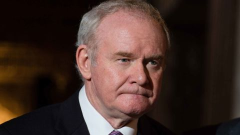 McGuinness resigned from his position in January 2017.