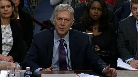 Neil Gorsuch confirmation hearing 1