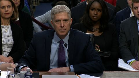 Neil Gorsuch confirmation hearing 2