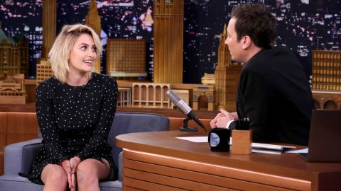 """Michael Jackson's daughter, Paris Jackson, broke out as a model and actress in 2017. She gave her first late night interview to """"Tonight Show"""" host Jimmy Fallon in March 2017."""