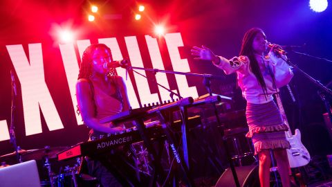 """The sisters perform at the YouTube House @ Coppertank at the music festival. Their debut EP, """"Sugar Symphony,"""" came out in 2016."""