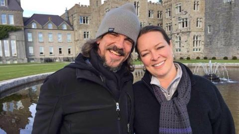 Kurt Cochran (left) died in the London attacks. His wife Melissa (right) survived.