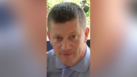 Keith Palmer died at the scene.