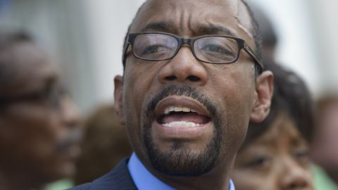 Cornell Brooks, President of the National Association for the Advancement of Colored People (NAACP).