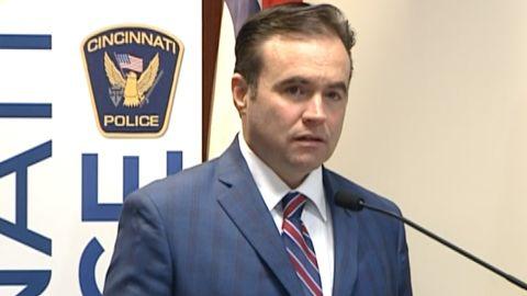 """Cincinnati Mayor John Cranley said his city is now one more community struck by """"unacceptable"""" gun violence"""