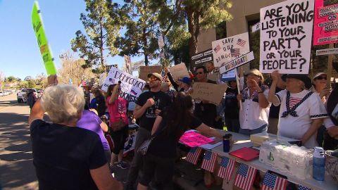 trump GOP protest