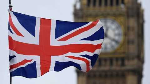 A Union flag flies near the Elizabeth Tower, commonly referred to as Big Ben, at the Houses of Parliament in central London on March 29, 2017.Britain formally launched the process for leaving the European Union on Wednesday, a historic move that has split the country and thrown into question the future of the European project. Just days after the EU's 60th birthday, Britain became the first country ever to seek a divorce, striking a blow at the heart of the union forged from the ashes of World War II. / AFP PHOTO / Justin TALLIS        (Photo credit should read JUSTIN TALLIS/AFP/Getty Images)