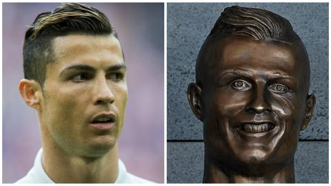 """But it's the bronze bust -- and the way it depicts Ronaldo -- which has hit the headlines. <a href=""""https://www.facebook.com/cnnsport/"""" target=""""_blank"""" target=""""_blank"""">What do you make of it? Have your say on our Facebook page. </a>"""