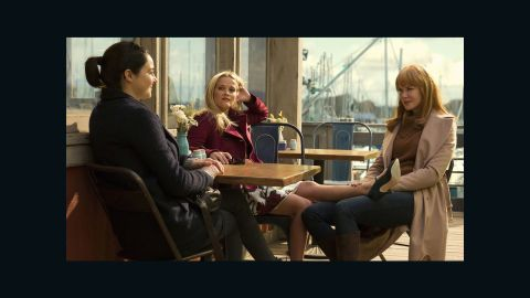 """Shailene Woodley, Reese Witherspoon and Nicole Kidman star in """"Big Little Lies."""""""