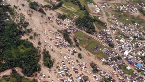 The city of Mocoa, Colombia was hit by a devastating mud slide after heavy rains on March 31.