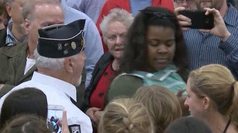 Protester pushed Trump rally Louisville Kashiya Nwanguma sot_00000000.jpg