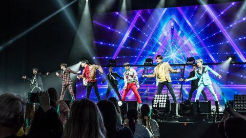 SHINee concert in Dallas