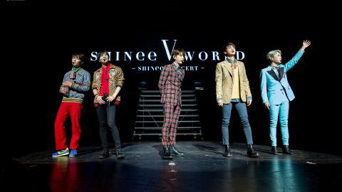 SHINee concert at the Verizon Theatre