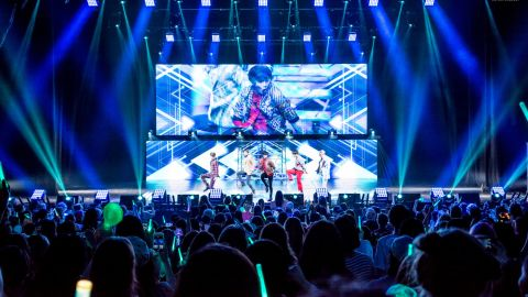 K-pop band SHINee in Dallas