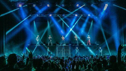 SHINee concert in Los Angeles