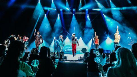 SHINee concert at the Shrine Auditorium