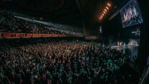 Los Angeles 'Shrine Auditorium during the SHINee concert