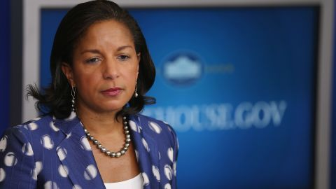 WASHINGTON, DC - JULY 22:  White House National Security Advisor Susan Rice briefs reporters about President Barack Obama's upcoming trip to Africa in the Brady Press Briefing Room at the White House July 22, 2015 in Washington, DC. Obama is traveling this week to Kenya and Ethiopia.  (Photo by Chip Somodevilla/Getty Images)