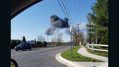 """<strong>April 5, 20917:</strong> A <a href=""""http://www.cnn.com/2017/04/05/politics/fighter-jet-crash-maryland/index.html"""" target=""""_blank"""">US F-16 crashed </a>several miles outside Joint Base Andrews in Maryland. The pilot safely ejected."""