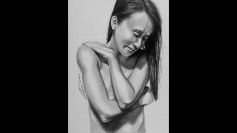 While in the hospital receiving treatment for an eating disorder, Jenna Simon had a breakthrough during therapy when she expressed her emotions through sketching. Now in recovery for more than two years, Simon hopes to inspire and motivate others in their mental health battles through her work and story.