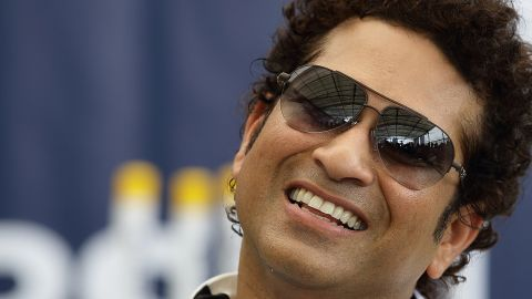 """Sachin Tendulkar has released his debut single as a """"special tribute"""" to his former teammates"""