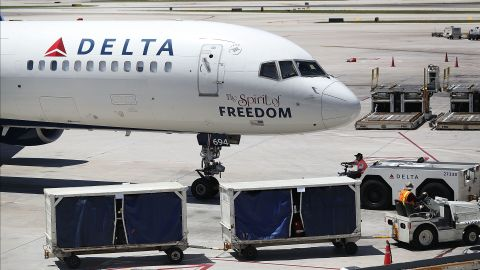 Delta Air Lines says it will carry naloxone, a medication that reverses an overdose after the fact, in its onboard medical kits.