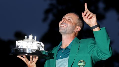 But that proved to be his most recent runner-up finish. Eighteen years of being tagged the nearly man of golf came to an end.