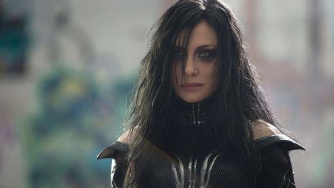 "Cate Blanchett played the villainous Hela in ""Thor: Ragnarok."""