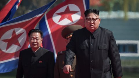 The residential area was built in less than a year, North Korea says.